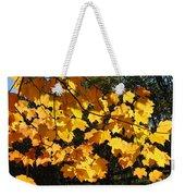 Maple Gold Weekender Tote Bag