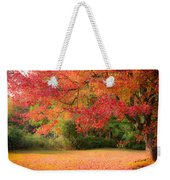 Maple In Red And Orange Weekender Tote Bag