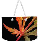 Maple Leaf Detail Weekender Tote Bag