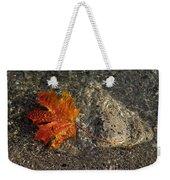 Maple Leaf - Playful Sunlight Patterns Weekender Tote Bag