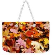 Maple Leaves Weekender Tote Bag