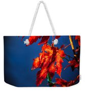 Maple Leaves Shadows Weekender Tote Bag