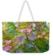 Maple Magnetism Painting Weekender Tote Bag