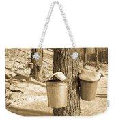 Maple Sap Buckets Weekender Tote Bag