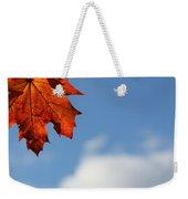 Maple Sky Weekender Tote Bag