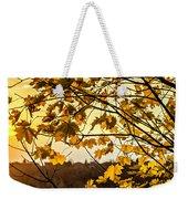 Maple Sunset Weekender Tote Bag