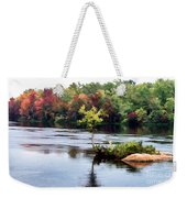 Maple Tree On A Rocky Island - V2 Weekender Tote Bag