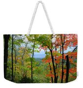 Maples Against Lake Superior - Tettegouche State Park Weekender Tote Bag