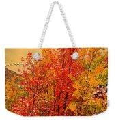 Maples Along The Palisades Weekender Tote Bag
