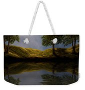 Maples In Moonlight Reflections Weekender Tote Bag