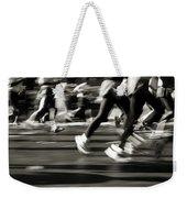 Marathon, Nyc, New York City, New York Weekender Tote Bag