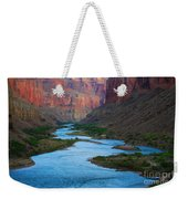 Marble Canyon Rafters Weekender Tote Bag by Inge Johnsson