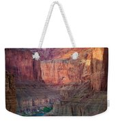 Marble Cliffs Weekender Tote Bag by Inge Johnsson