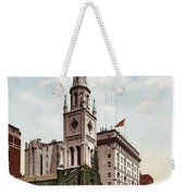 Marble Collegiate Church Holland House New York Weekender Tote Bag