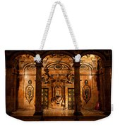 Marble Decor In The Sevilla Cathedral Weekender Tote Bag