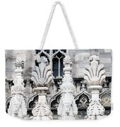 Marble Facade II Duomo Di Milano Italia Weekender Tote Bag