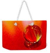 Marble Shine Weekender Tote Bag by Debbie Portwood