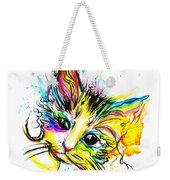 Marble The Cat Weekender Tote Bag