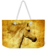 Marbled War Horse Weekender Tote Bag