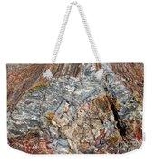Marbleized Wood Weekender Tote Bag