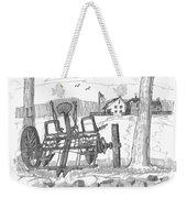 Marbletown Farm Equipment Weekender Tote Bag