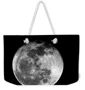 March Full Moon Weekender Tote Bag