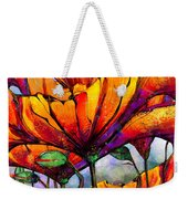 March Of The Poppies Weekender Tote Bag