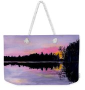 March Sunset In Maine Weekender Tote Bag