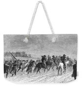 March To Trenton, 1776 Weekender Tote Bag