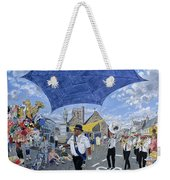 Marching Band, Brecon Jazz Festival, 1994 Oil On Board Weekender Tote Bag