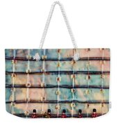Marching Band Encaustic Weekender Tote Bag