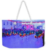 Marching In The Parade Weekender Tote Bag