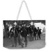 Marching Off To Battle Weekender Tote Bag