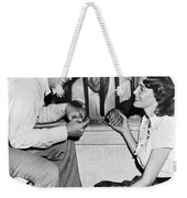 Marciano In A Movie Jail Set Weekender Tote Bag by Underwood Archives