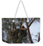 Marco Eagle - Protecting Its Nest Weekender Tote Bag