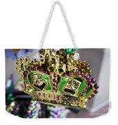 Mardi Gras Beads Weekender Tote Bag