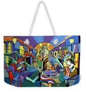 Mardi Gras Lets Get The Party Started Weekender Tote Bag