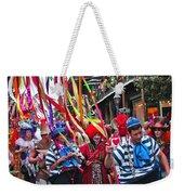 Mardi Gras In New Orleans Weekender Tote Bag