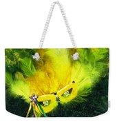 Mardi Gras On Green Weekender Tote Bag
