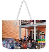 Mardi Gras Party On St Charles Ave New Orleans Weekender Tote Bag