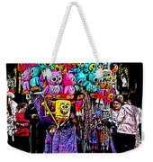 Mardi Gras Vendor's Cart Weekender Tote Bag