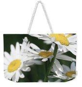 Marguerite Blossom Weekender Tote Bag