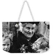 Maria Montessori Weekender Tote Bag