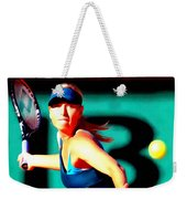 Maria Sharapova Tennis Weekender Tote Bag