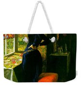 Mariana In The Moated Grange 1851 Weekender Tote Bag