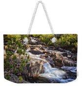 Marie Lakes Stream Weekender Tote Bag