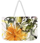 Marigold And Other Flowers Weekender Tote Bag