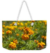 Marigold Flowers Weekender Tote Bag