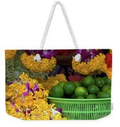 Marigolds And Limes Weekender Tote Bag