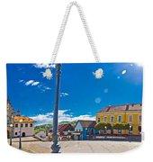 Marija Bistrica Square Colorful Panorama Weekender Tote Bag